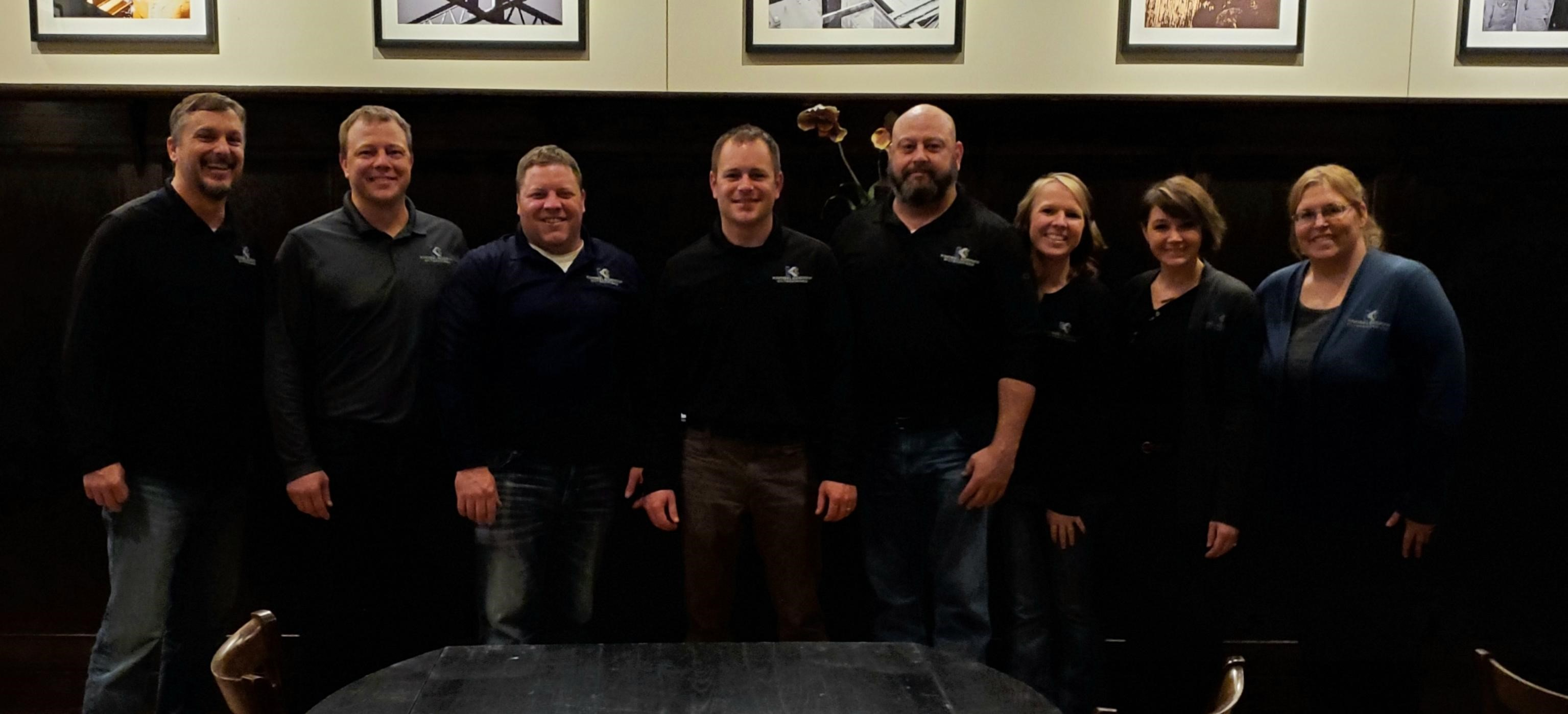 The KE team surprised Karl at the yearly ABC MN/ND Chapter meeting